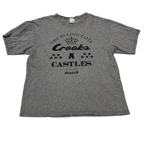 Crooks & Castle Graphic Tee Mens Size L